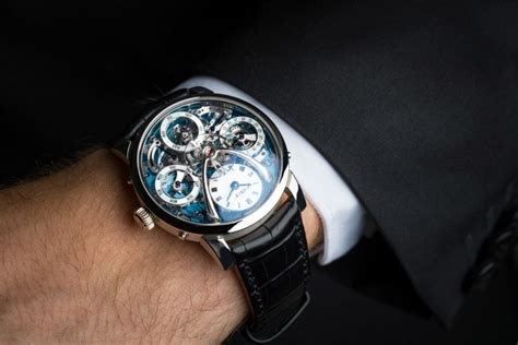 mbf show show you the mb f legacy machine perpetual calendar