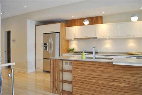 marvelous zebra wood vogue ottawa modern kitchen
