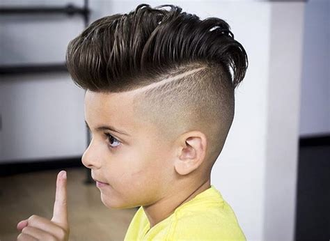 pompadour haircut boys 34 cute and adorable little boy haircuts