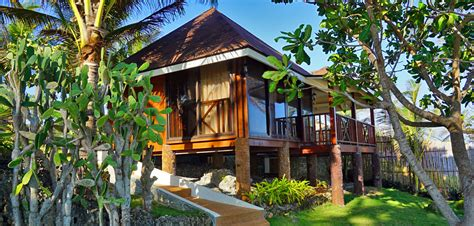 Bungalow House Design With Terrace Anda White Beach Resort In The Philippines Bohol Guide