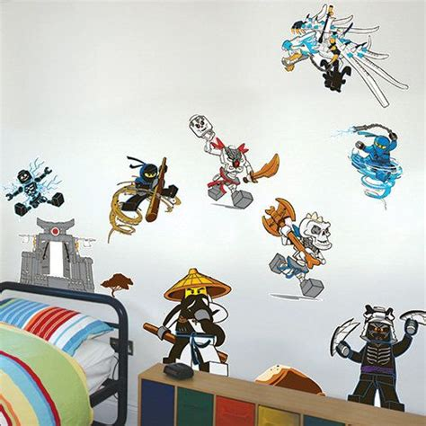 ninjago wall decals kid s room lego