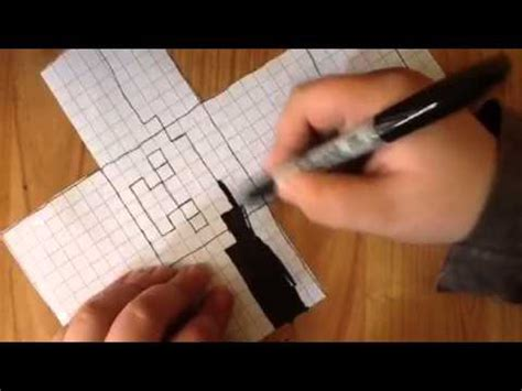 How To Make A Paper Steve - how to make a paper minecraft steve