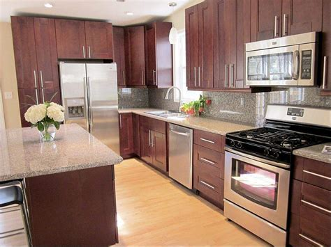 improve the look of your kitchen with mahogany kitchen cabinets my kitchen interior