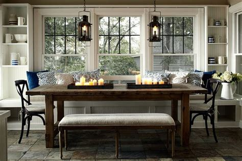 Window Seat Dining Table For The Bench Seating In Kitchen A Marble Topped Bistro Table Would Be