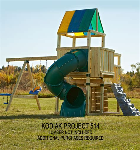 kodiak swing set kodiak custom diy play set hardware kit swing n slide