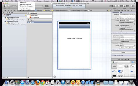 xcode tutorial iphone ios 6 ios how to use iphone simulator 5 1 in xcode 4 6 2