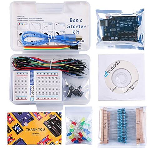 tutorial pdf arduino uno elegoo el kit 004 uno project basic starter kit with