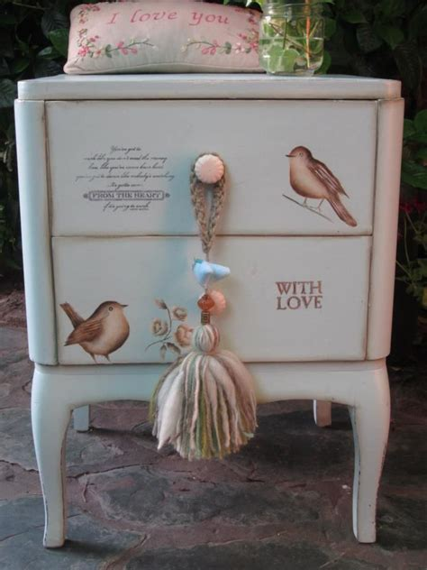 Decoupage On Wood Furniture - 244 best decoupage images on crafts wood and