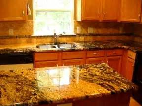 How To Remove Kitchen Countertops by Exotic Granite Countertops With Tile Backsplash