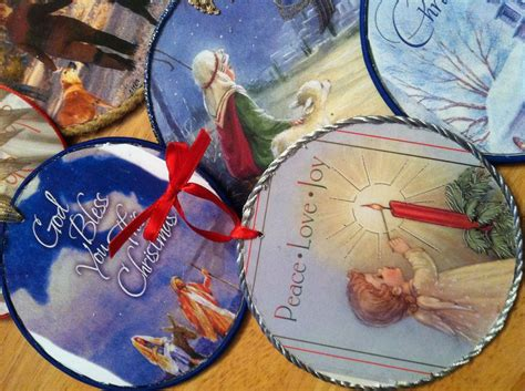 hometalk how to make cd ornaments