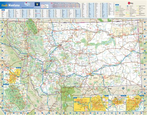 montana national parks map large detailed roads and highways map of montana state