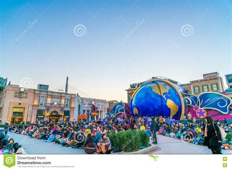 theme park attractions osaka japan 1 december 2015 the theme park attractions