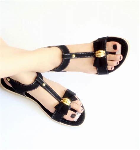 Sepatu Anak Cewek Pita jual sandal wanita pita sendal cewek sdl35 cafana