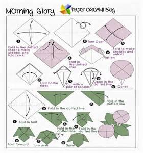 Origami Flower Diagram - september 2013 paper origami guide