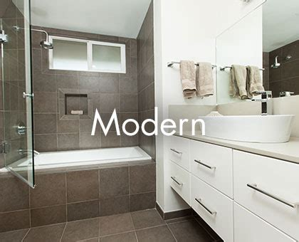 Modern Bathroom Remodel Ideas by Bathroom Design Portfolio One Week Bath Designs