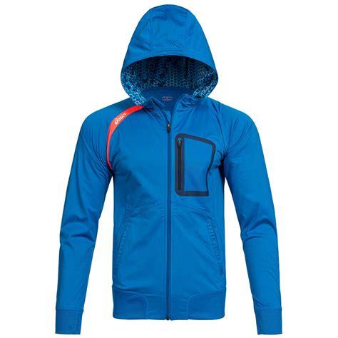Jaket Running Hoodi Zipper asics performance jacket zip hoodie running hoody jumper sports s 2xl new ebay