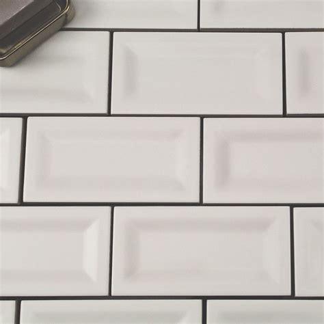 basic 3x6 white inverted matte ceramic tile basic