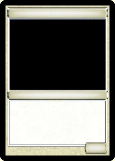 mtg blank card template 16 best mtg templates images on mtg