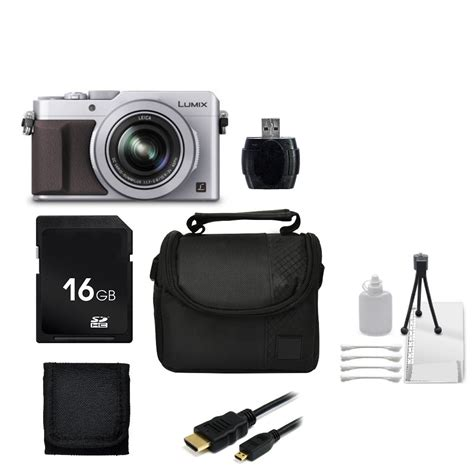 Panasonic Lumix Dmc Lx100 Kamera Mirrorless Silver panasonic lumix dmc gh4 4k mirrorless micro four thirds