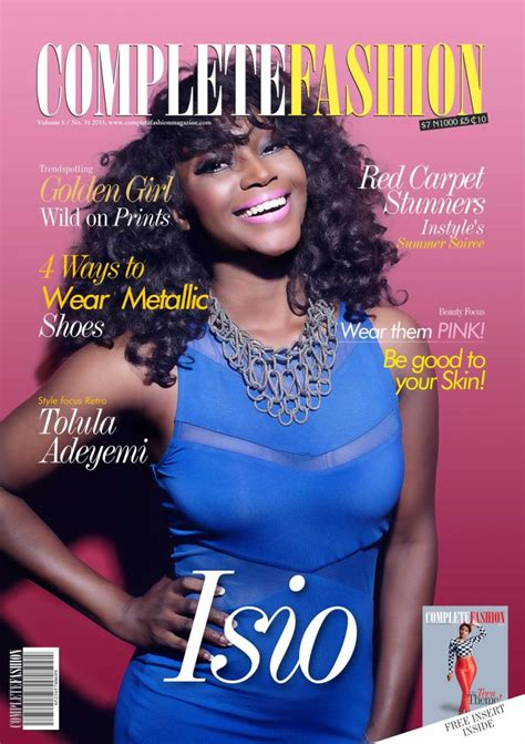 Fashion Designers Issue Model Guidelines by Model Isio Wanogho Tinsel Gideon Okeke Cover