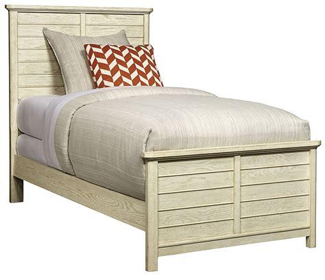 driftwood bed driftwood park vanilla oak twin panel bed 536 23 35