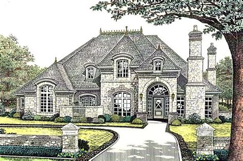 french country european house plans european french country house plan 66245