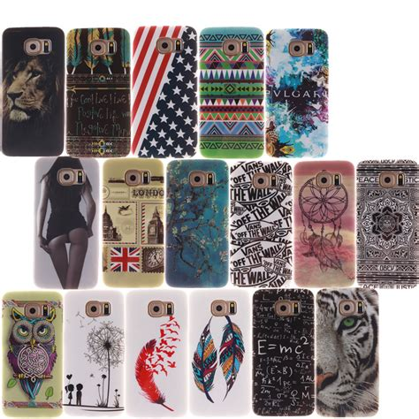 Tiger Softcase For Samsung S4s5note 3 owl tiger printing soft silicone tpu cover for samsung galaxy s3 s4 s5 s6 s7