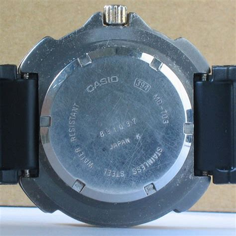 Rubber Casio Md 705 vintage casio diver md 703 bangkokjunkman