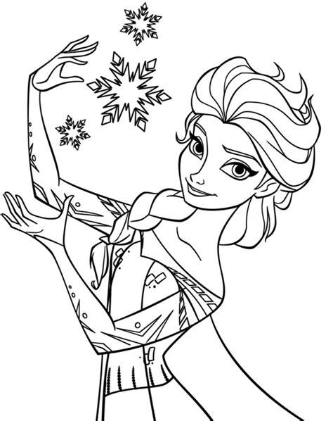 princess elsa coloring page coloring page art