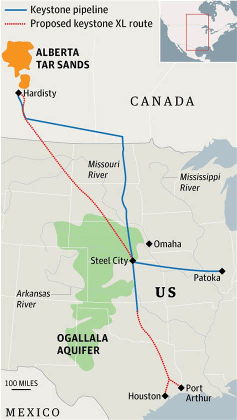 keystone pipeline map keystone xl pipeline hearing sees show of from both sides environment the guardian
