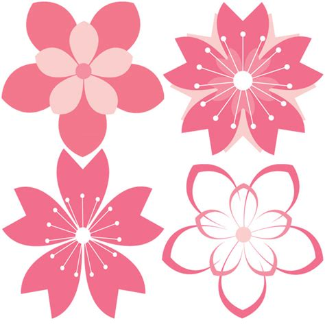 cherry pattern vector art 11 cherry blossom vector patterns set welovesolo