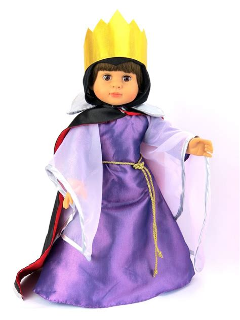 doll snow white evil queen costume  doll boutique