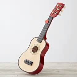 Wooden Kids Table And Chairs Kids Wooden Toy Guitar The Land Of Nod