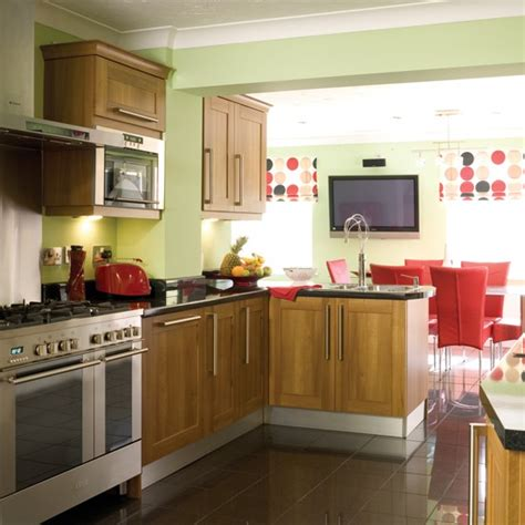 green and red kitchen ideas red and green kitchen diner kitchen extensions