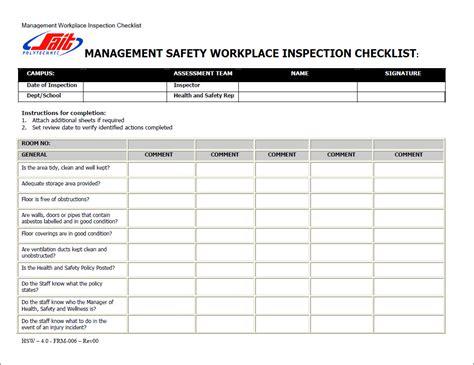 Workers Compensation: Workers Compensation Safety Checklist