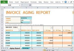 excel accounts receivable template track accounts receivable with invoice aging report
