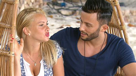 evelyn burdecki interview rtl evelyn und domenico im quot bachelor in paradise quot liebesinterview