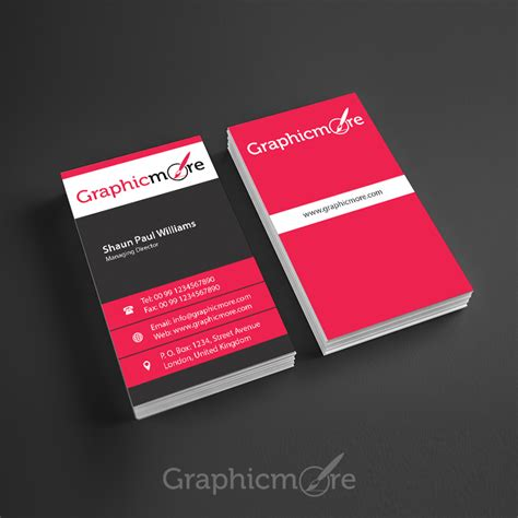 business card vertical template 25 free vertical business card mockups psd templates