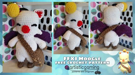 magic urn pattern ffx final fantasy 11 moogle free crochet pattern