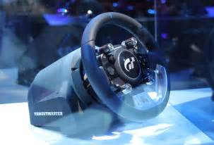 Gt Racing Wheel Thrustmaster To Showcase T Gt Racing Wheel At E3 2017