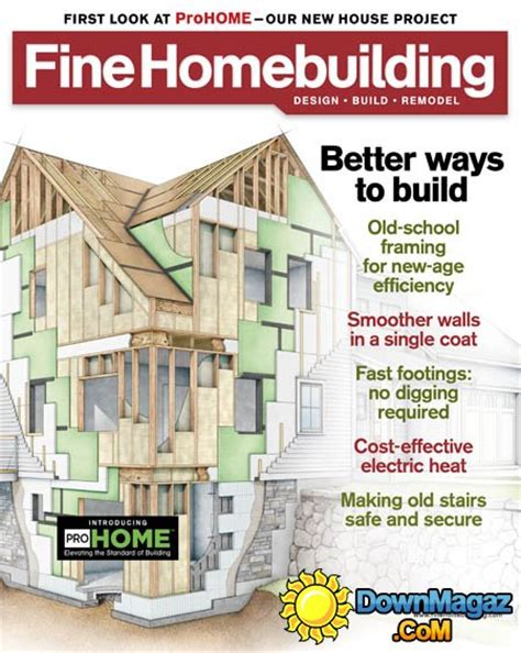 fine homebuilding fine homebuilding july 2016 187 download pdf magazines