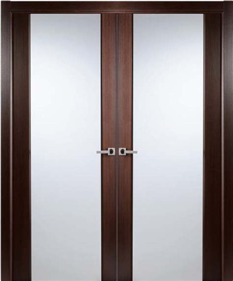 Modern Interior Bifold Doors Frosted Glass Folding Interior Glass Doors
