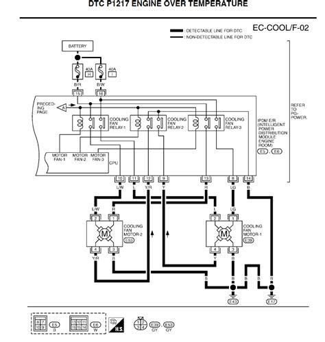 radiator fan wiring diagram infiniti g37 radiator fan relay wire diagram 44 wiring