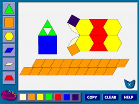 pattern blocks math playground artistic math math engaged