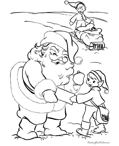 coloring pictures of santa and elves coloring pages of christmas elf new calendar template site