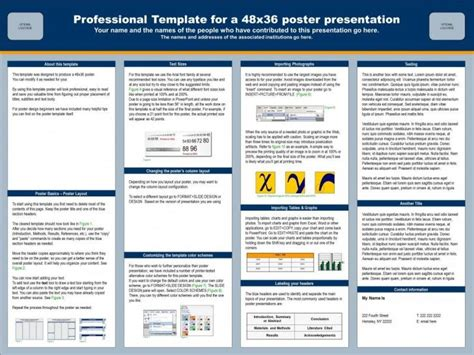 templates powerpoint academic academic poster template powerpoint a2download free