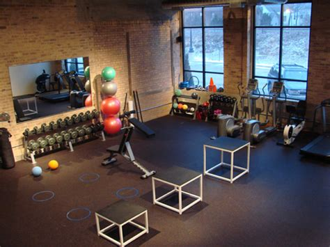 home workout studio design chicago fitness area ravenswood health center personal