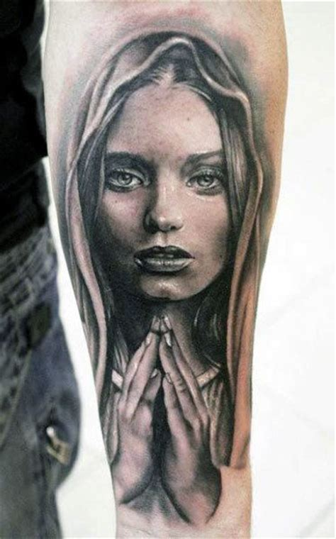 praying mary tattoo designs 70 praying designs for silence the mind