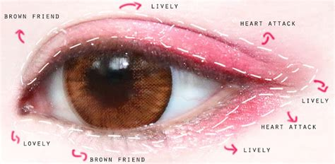 pink eye color xxzyro review missha x line friends eye color studio