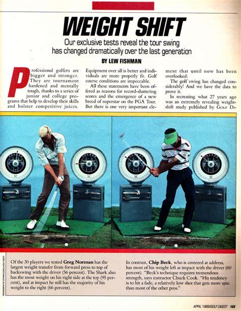 golf swing weight shift 3jack golf blog golf digest weight shift article